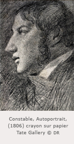 Constable - Autoportrait de 1806